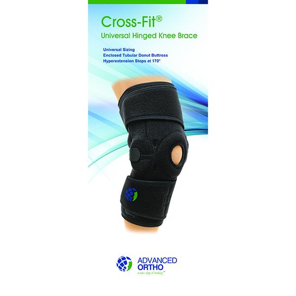 Cross-Fit™ Universal Hinged Knee Brace