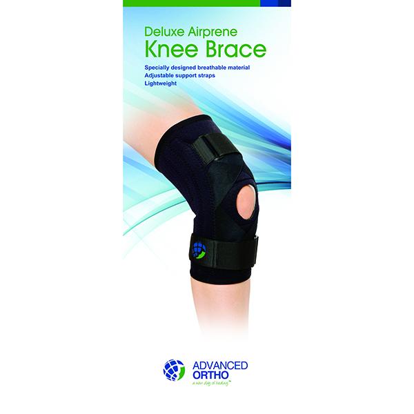 Deluxe Airprene Hinged Knee Brace