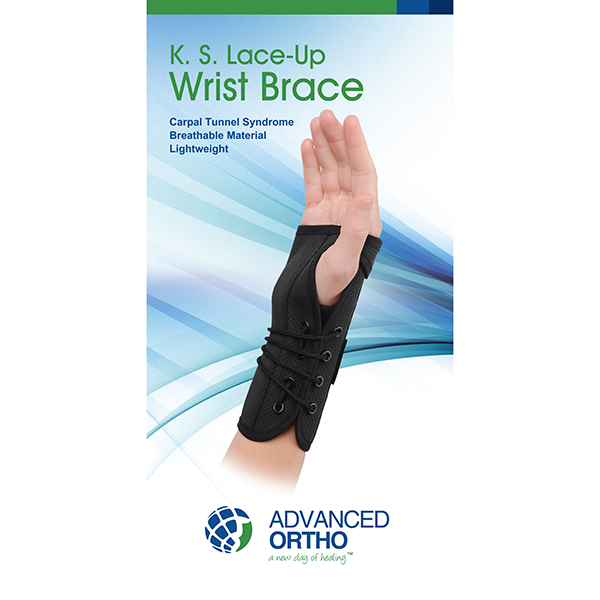 K.S Lace-Up Wrist Splint