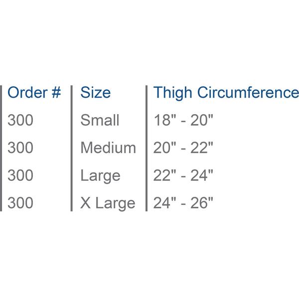 Neoprene Thigh Sleeve Support