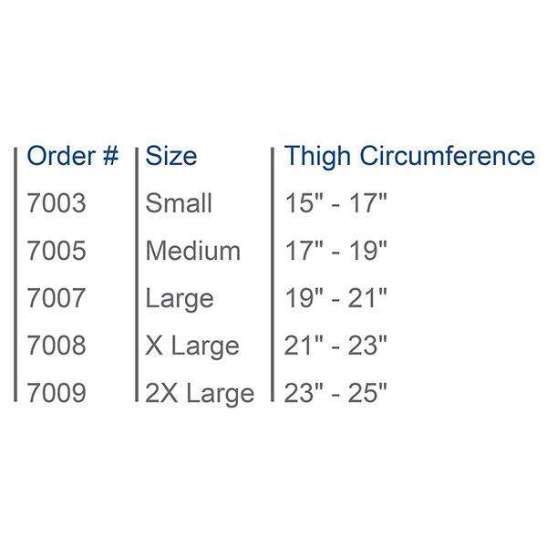 Premium Sized Knee Immobilizer