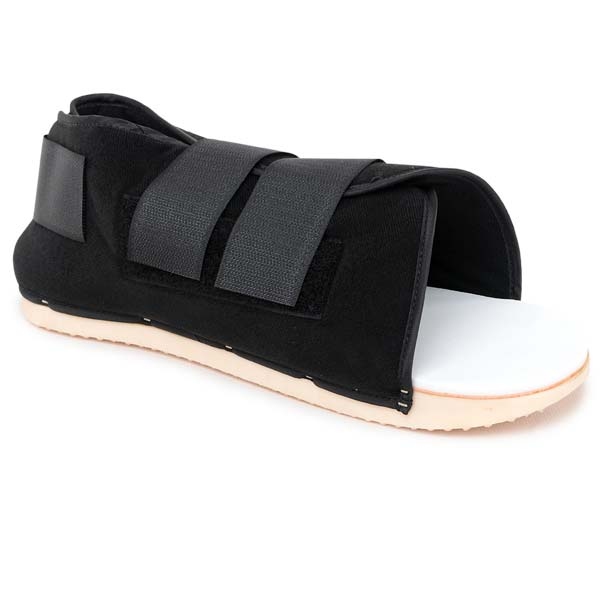 Post-Operative Shoe-Adjustable Heel
